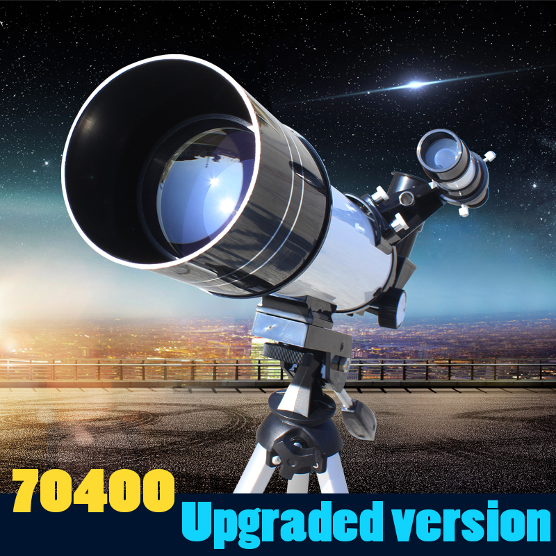 Datyson 20-200x 70mm Caliber Monocular Astronomical Telescope <font><b>90</b></font> Degrees Basic Version with Tripod Early learning Earlylearning image