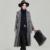 2017 Primavera Mulheres Nova Chegada do Casaco de Lapela Casaco de Camurça Mulheres Longa X-Faixas de Lã Revestimento Das Senhoras Jaqueta de Inverno Feminino Cashmere Parka F1894