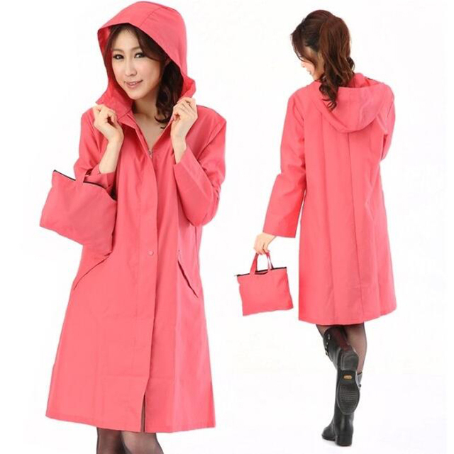WINSTBROK Rain Jacket Womens 2018 Ribbon Zipper Waterproof Windbreaker Rain  Coat Korean Adult Fashion Personality Raincoat Women 97fab62f7c