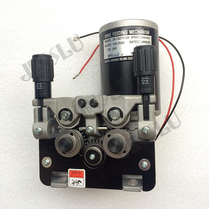 76ZY-02AV Mig Machine d'alimentation de moteur d'alimentation de fil 2.0-24 m/Min 1PK pour la Machine de soudage MIG MAG JINSLU SALE1