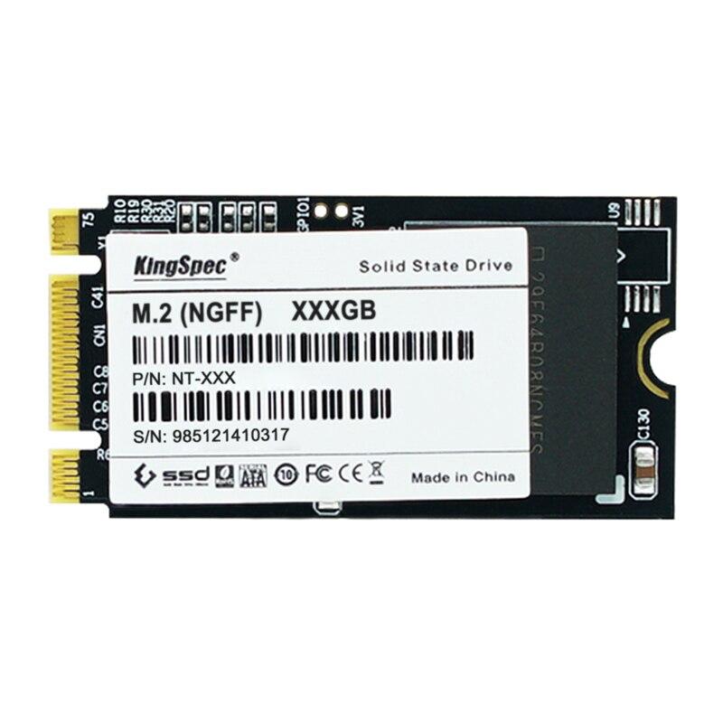 Kingspec ngff 42*22 SSD 32 GB 64 GB 128 GB 256 GB mini PCIe estado sólido para thinkPad e531 S5 t440s para Lenovo con canal