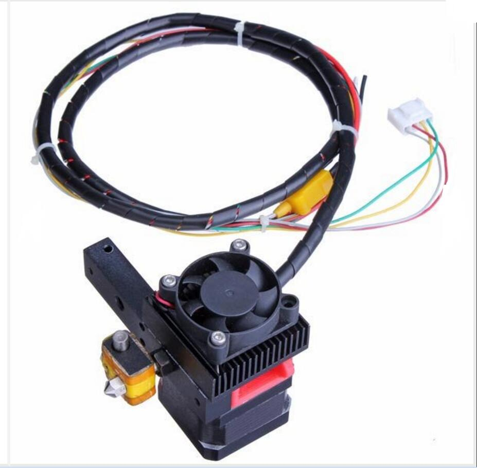 DuoWeiSi 3D Printer Parts Makerb Reprap 3D Printer Extruder Head For MK8 Upgrade Version 3d printer head latest upgrade mk8 j