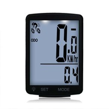 2.8 Inch Waterproof Bike Computer Led Bicycle Speedometer Wireless Odometer Multifunction Sports Sensors