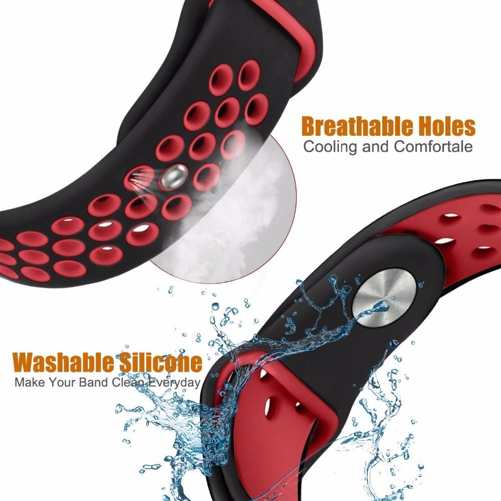 For Xiaomi Huami Amazfit GTS Bracelet Watch Band Amazfit Bip Watchband Amazfit GTR 42mm Silicone Strap 20mm Width