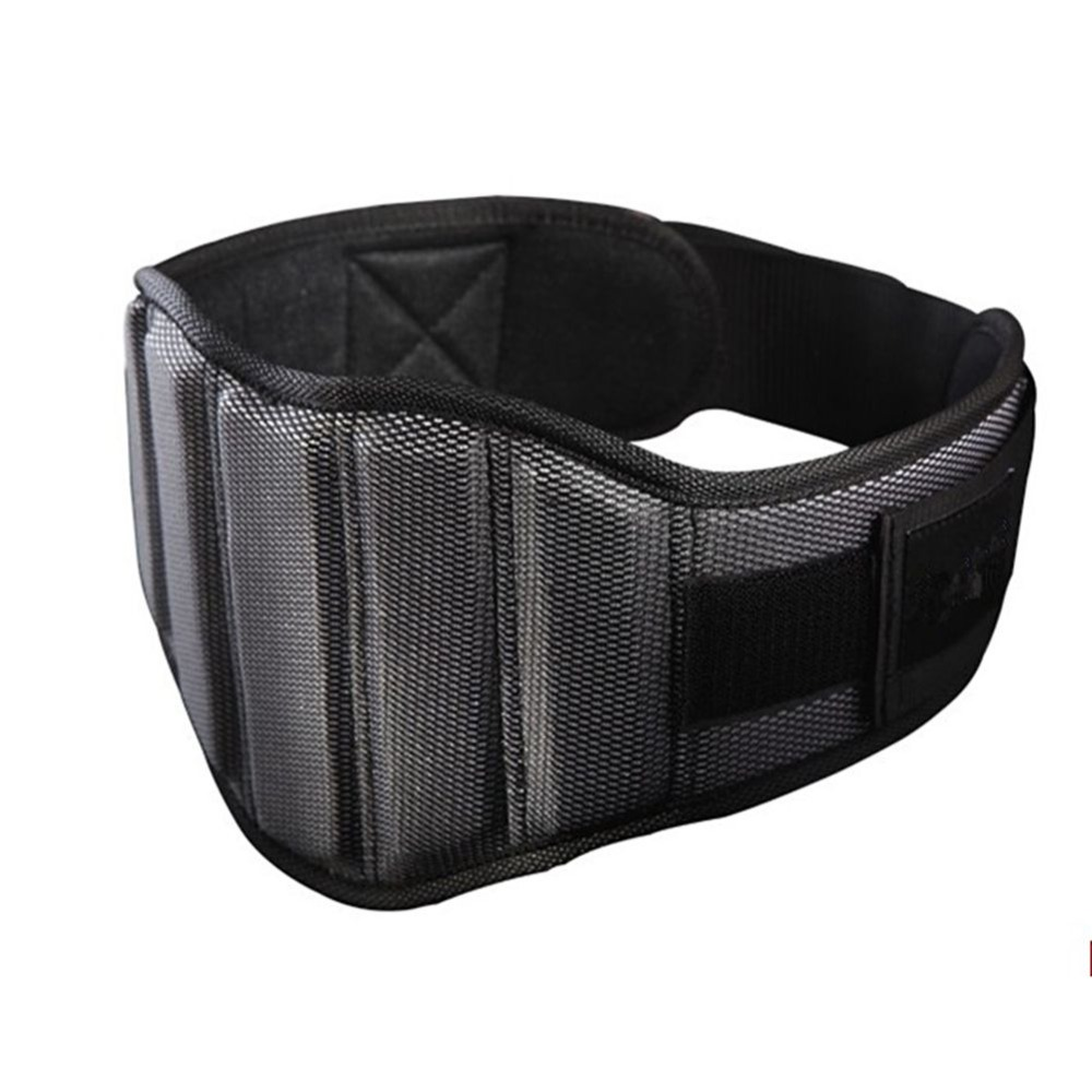 Fitness Nylon Gym Belt Weight Lifting Squat Belt Weightlifting Bodybuilding Waist Protection Power Training Belt Ultra Wide цены онлайн