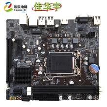 цена на Jiahua Yu H61 desktop computer motherboard B LGA1155 DDR3 USB2.0 HDM1 HD interface 16G SATA II