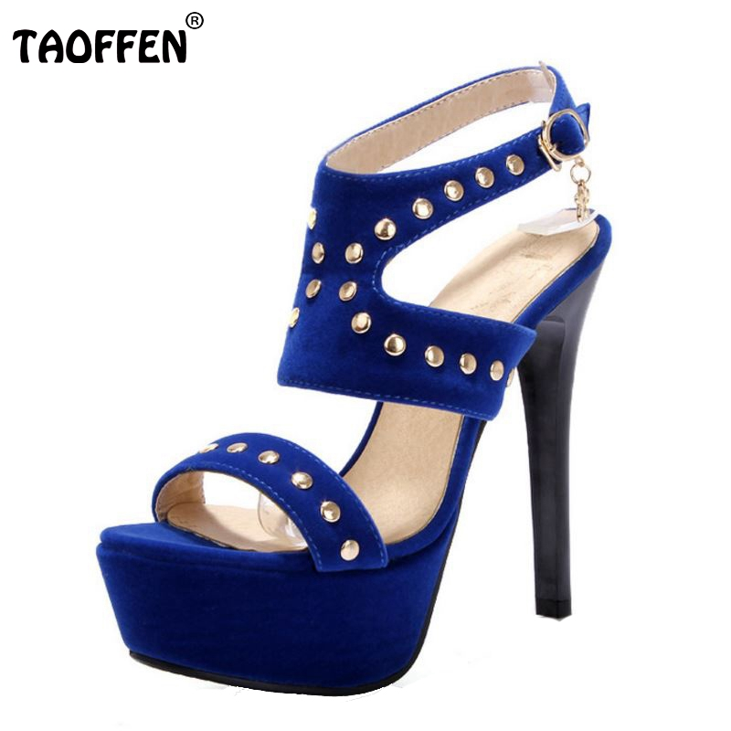 Free shipping quality high heel sandals fashion women dress sexy shoes platform pumps P14165 Hot sale EUR size 34-43 free shipping candy color women garden shoes breathable women beach shoes hsa21