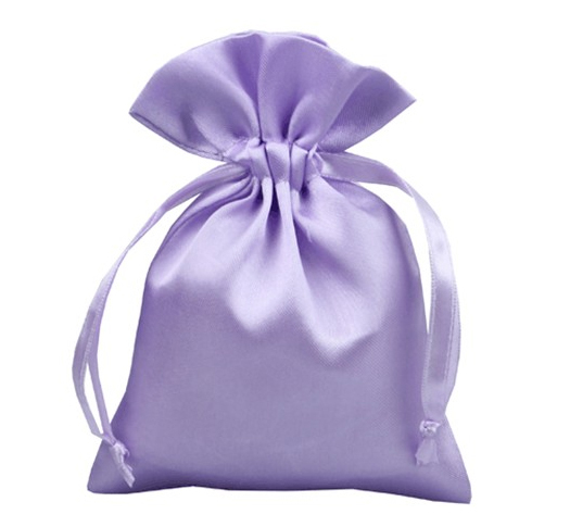 100pcs Free Shipping Satin Drawstring Pouches Jewelry Pouch Gift Bag Custom Logo Bracelets In Packaging