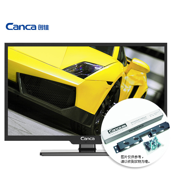 Free Shipping CANCA 24HME5000 CP64 24 inch multimedia HD LED LCD flat panel TV Display monitor Full HD HDMI/USB/AV/RF/VGA(China)
