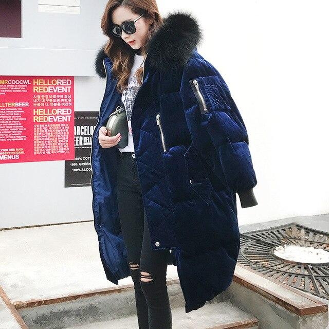 Aliexpress.com : Buy 2017 New winter coats Korean velvet down ...