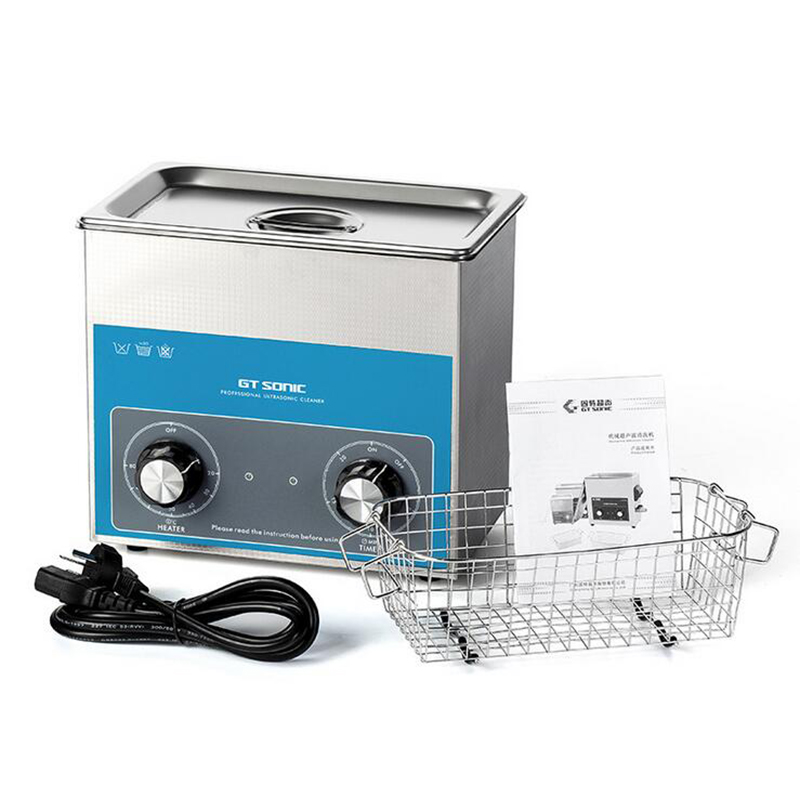 VGT-1730QT Ultrasonic Cleaner Timer Temperature Setting Stainless Tank Bath For Electronic Surgical Parts Cleaning Machine 3L 110v 220v aoyue9050 ultrasonic cleaner cleaning machine for cleaning electronic accessories