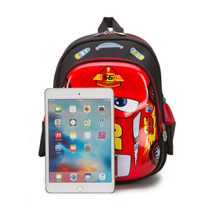 Image 4 - ディズニー車子供のバッグ、学校ミニバックパック少年少女漫画冷凍幼稚園ベビーバッグショルダープライマリ学生バッグ
