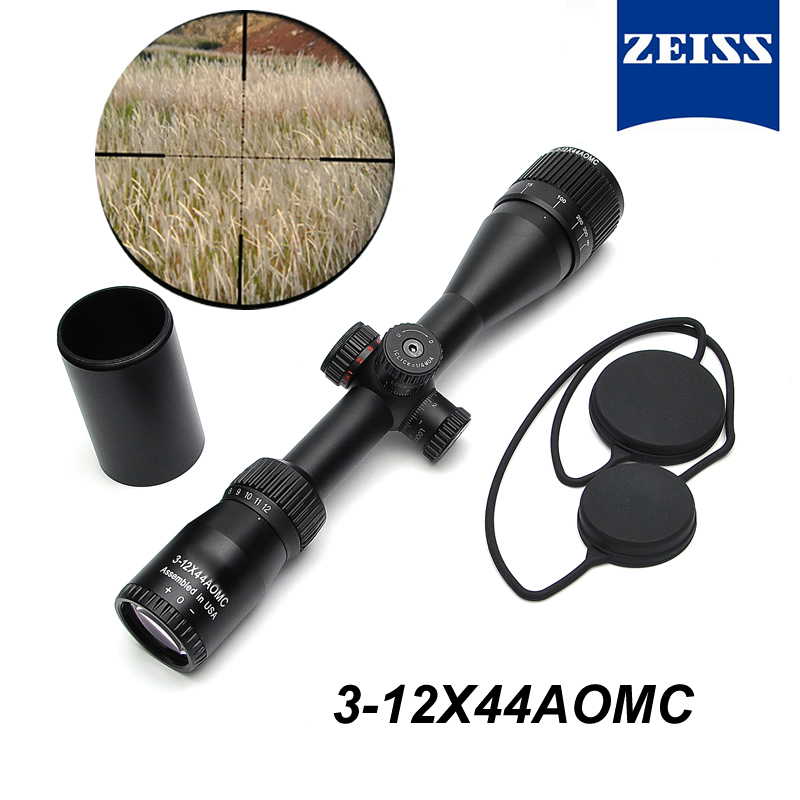 Zeiss 3 12x44 AOMC New Designed Long Eye Relief Riflescope Optic Sight For Airsoft Hunting Scopes