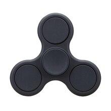 Новый Матовый Tri-Непоседа Игрушки Пластиковые EDC Руки Spinner Spinner Для Аутизма и СДВГ Вращения Долгое Время Анти-Стресс игрушки