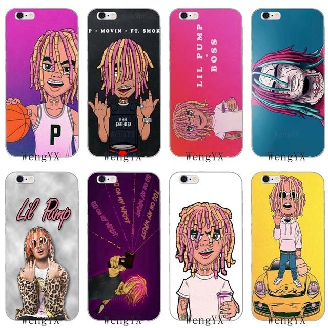 a34748aac871 hipster hiphop rapper Lil Pump Slim silicone Soft phone case For Xiaomi Mi  6 A1 5 5s 5x mix max 2 Redmi Note 3 4 5 5A pro plus