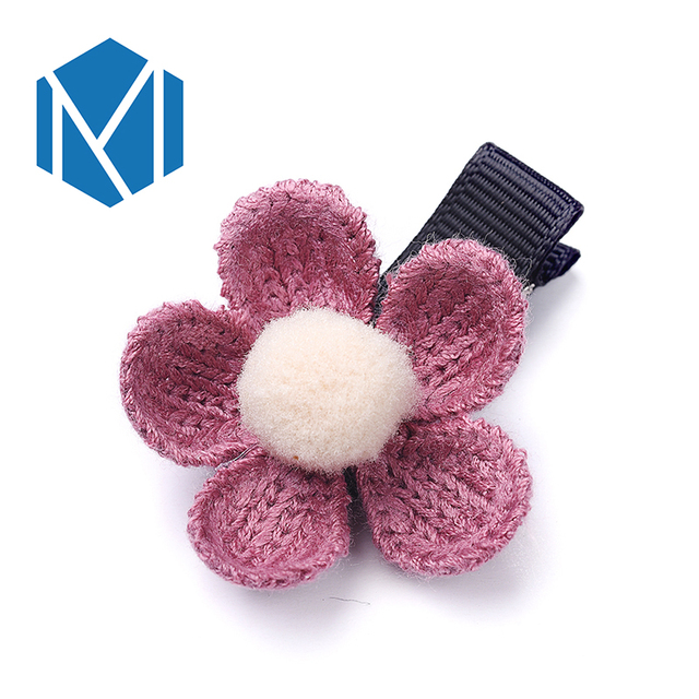 M MISM 1PC NEW Fashion Hair Accessories For Women The Flower Hair Clip Floral hairpin for hair Girls Decorations Jewelry