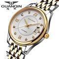 Relógio Mecânico Automático dos homens da marca Designer Men Sports Relógio de Pulso masculino relógio Negócio calendário cristal de Safira de Aço horas