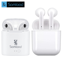 Headset Earbuds Ture Wireless Bluetooth Double Earphone Twins Earpieces Stereo Binaural Earphones For All Mobile Phones