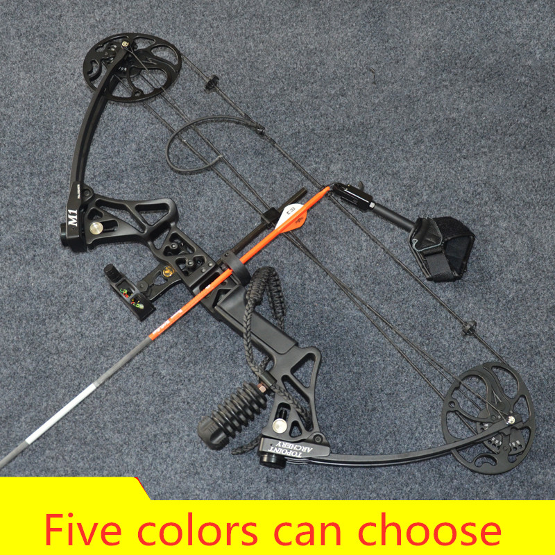 M1 Compound Bow for Hunting slingshot Archery bow with 20 70 Lbs Draw Outdoor Human Shooting Set Commissioning completed