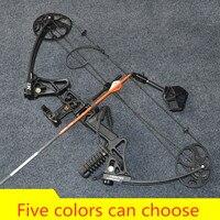 M1 composto arco para caça estilingue tiro com arco com 20-70 libras desenhar conjunto de tiro humano ao ar livre comissionamento concluído