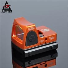 AIMTIS Tactique RMR Réglable Reflex Red Dot Sight 3.25 MOA Portée pour La Chasse Fit 20mm Pictinny Rail et Airsoft pistolet