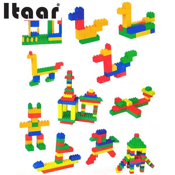 Love Baby, Love Itaar 144pcs Plastic Building  Kids Toy Children Puzzle Educational Toy