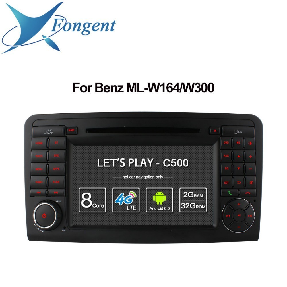 For Mercedes Bnez GL ML CLASS W164 X164 ML350 ML450 GL320 GL450 MB Car Multimedia Player Android Unit GPS Navigator Auto Radio цена