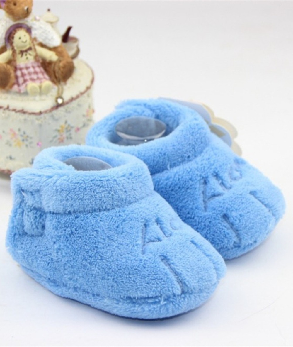 Algodón Pequeña Garras Estilo Zapatos de Bebé Unisex Del Niño Soft Sole Niños Ca