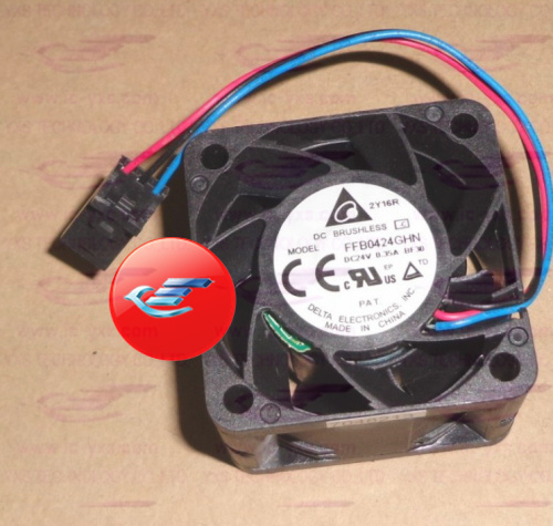 ФОТО Kind shooting 4CM DC24V 035A 4028 fan FFB0424GHN 3 wires  In stock