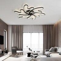 lustre de plafond moderne Modern Wave Ceiling Lights LED Lamp for living room bedroom luminaire plafonnier Ceiling Lamp