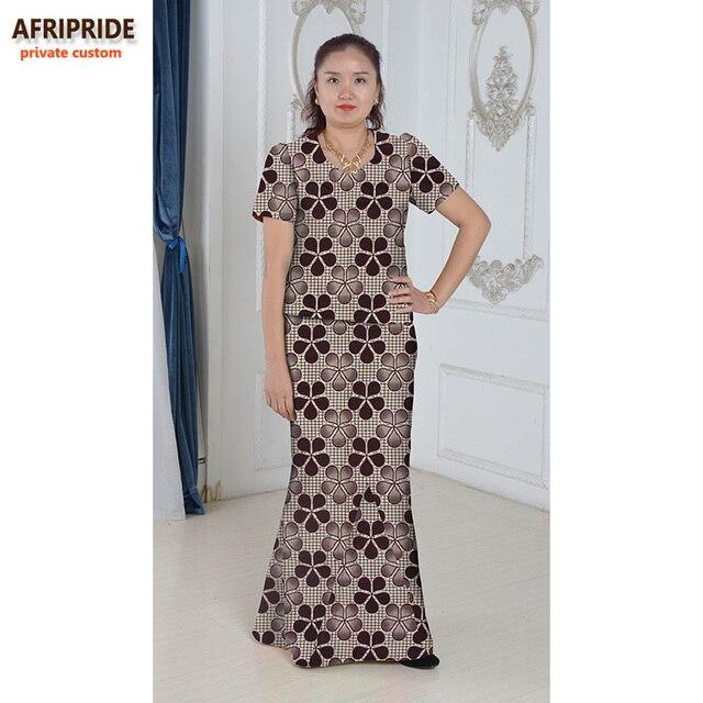 34f44bbfbf627 Africain élégant robe ensemble pour les femmes femmes style africain  vêtements impression coton costume deux pièces