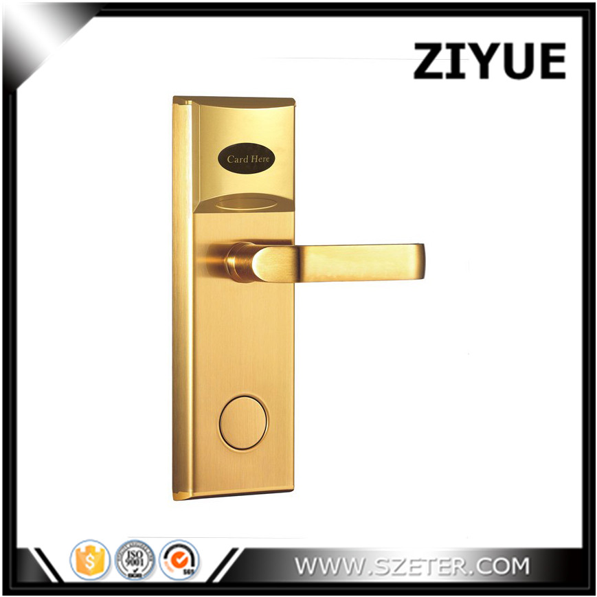 Discount! RFID proximity card  hotel door handle locks  For hotel room card lock system   ET101RF proximity sensor et 305 et 305