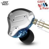 KZ ZS10 PRO 1DD 4BA HIFI Metal Headset Hybrid In Ear Earphone Sport Noise Cancelling Headset AS10 ZST ZSN PRO ES4 ZS10 V80 AS16