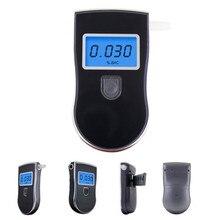 Патент Полиция Черный Цифровой Alcotest Тестер Алкоголя в Выдыхаемом Воздухе Детектор Алкотестер Тест