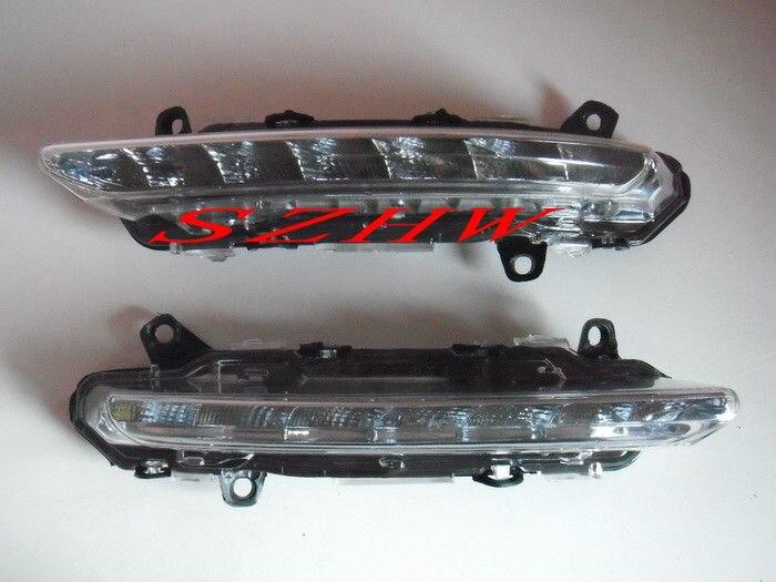 Июля Король 7ledы дневные ходовые огни DRL чехол для Benz 2007~2011 для w204 (C-Класс) W221 (S-класса) ,1:1, замена aftermarket