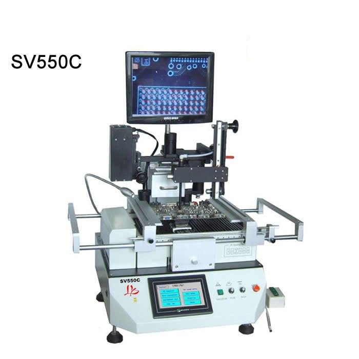 Автоматическая оптическое выравнивание станции SV550C SMD паяльная станция с 12 дюймов светодиодный экран Омега термопары