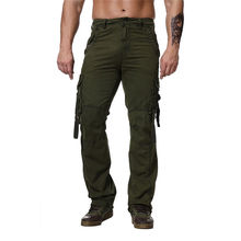 Military Cargo Pants Men Multi-pocket Tactics Trousers Male Casual Sweatpants 2019 Mens Camouflage Streetwear HN71