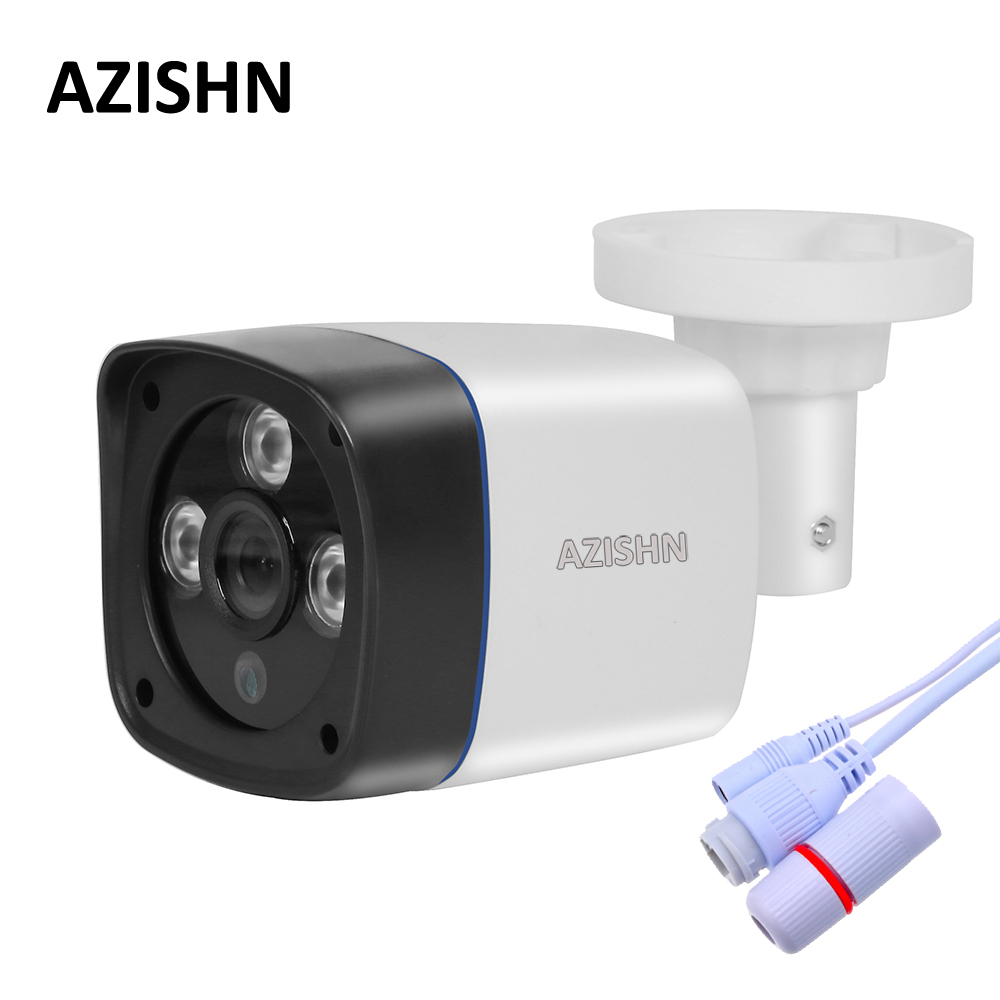 IP Camera 720P/960P/1080P 3pcs ARRAY LED 3.6MM LENS P2P ONVIF Outdoor Security CCTV Bullet Camera Surveillance IP Camera FULL HD hd 720p 1080p wifi ip camera 960p outdoor wireless onvif p2p cctv surveillance bullet security camera tf card slot app camhi