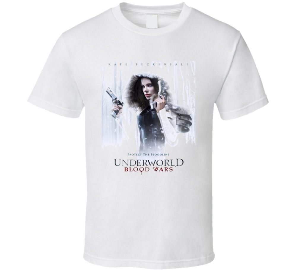 Underworld Blood Wars Cult Movie T shirt Brand shirts jeans Print