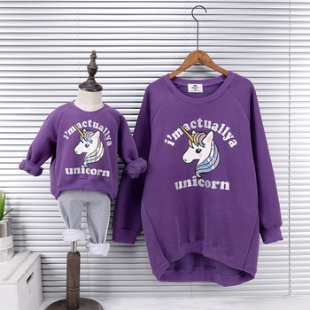 Mother And Daughter Unicorn Sweatshirt