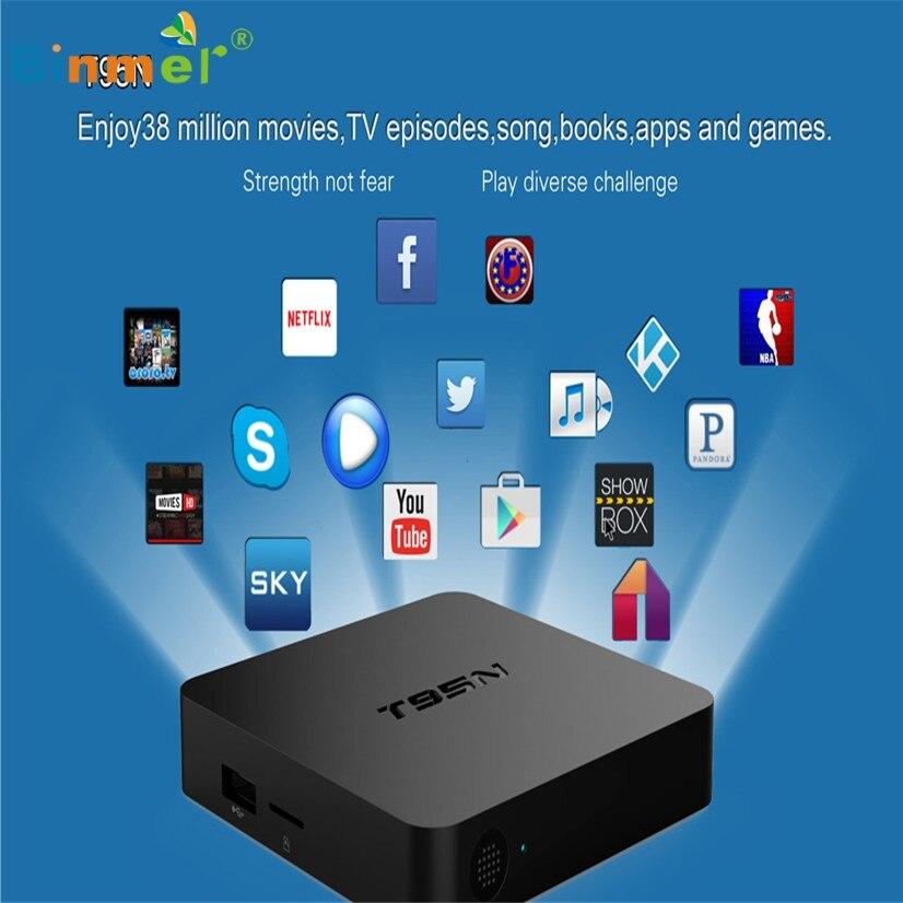 T95N Binmer Venta Caliente MINI M8S PRO Android 6.0 TV Box Octa Core 2 GB DDR3 8