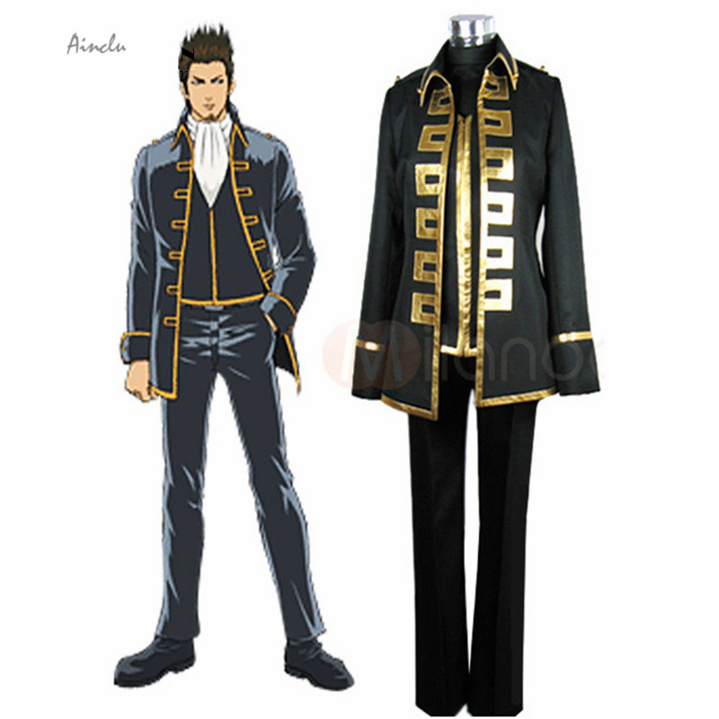 Ainclu New Cosplay Make you the same as Gold Soul in this Gintama cospaly costume for cosplay show Halloween costume