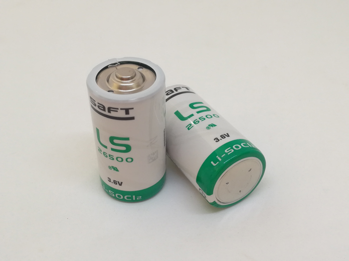 3PCS LOT Brand New Original SAFT LS26500 Size C 3 6V 8000MAH Lithium 26500 Battery Non rechargeable LS26500 Batteries in Primary Dry Batteries from Consumer Electronics