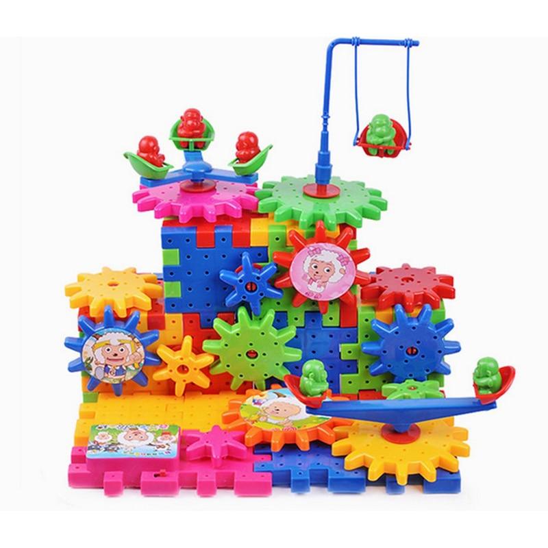 Mainan panas baru Mainan kreatif Gear Elektronik bangunan DIY - Mainan pembinaan - Foto 2