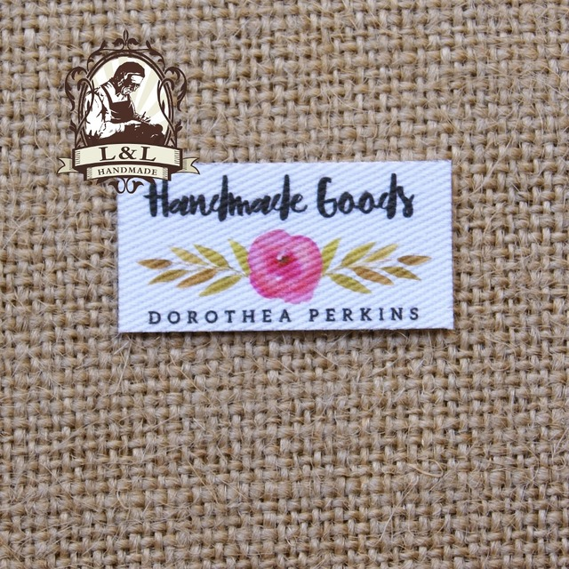 US $14 89 |80 pieces Custom logo labels / brand labels, personalized name  tags for children, iron on,Custom Clothing Labels,Name Tags-in Garment