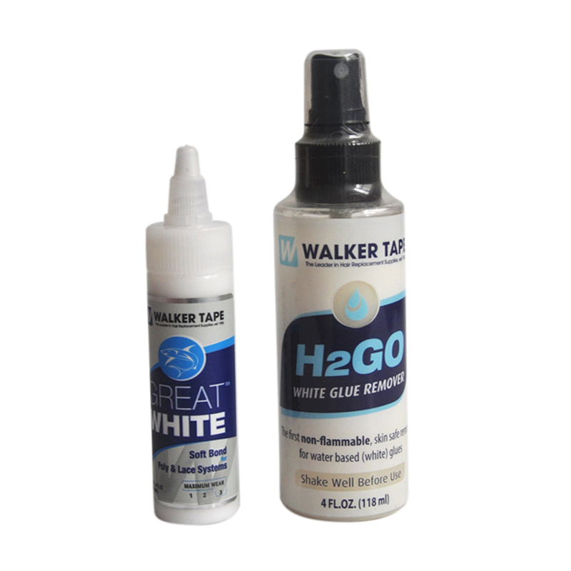 Hair Adhesive Soft Bond Adhesives Glue H2GO Remover For Poly Lace Systems Wig Adhesives Glue