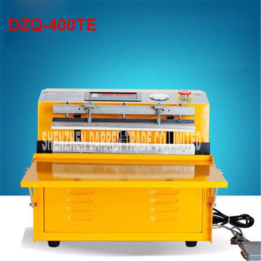 DZQ-400TE 220 V/100 v ménage alimentaire scelleur sous vide Machine d'emballage Film scelleur sous vide emballeur 700 W sous vide machine à emballer