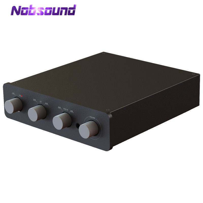 все цены на Nobsound Translinear Current Mode HiFi Power Amplifier Stereo Headphone Amp Audio Preamplifier