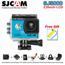 100% Original SJCAM Series SJ5000 Action Camera 1080P full HD Waterproof helmet Sport DV Camera with more cam accessories choose