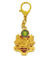 2017 New Feng Shui Wealth and Success Amulet Keychain W2387
